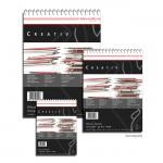 Hahnemühle CREATIV Skizzenblock, 100g, fein, Spiral DIN A4 (100 Blatt)