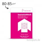 Hahnemühle Isometrieblock BLAU, 50 Blatt, 80g