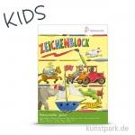 Hahnemühle JUNIOR Kindermalblock, 20 Blatt, 100g