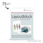 Hahnemühle Layout Papier, 75g, 75 Blatt DIN A4