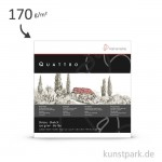 Hahnemühle QUATTRO Skizzenblock, 50 Blatt, 170g 30 x 30 cm