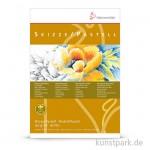 Hahnemühle SKIZZE / PASTELL, 30 Blatt, 130g, 100% Hadern