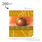 Hahnemühle VELOUR Pastellpapier, 10 Blatt, 260g, weiß