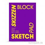 Hahnemühle VELVET Skizzenpapier, 40 Blatt, 185g