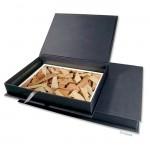 Hochwertige Fotoarchivbox Leinen 23,2 x 32,8 x 3 cm (innen)