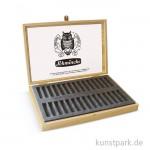 Schmincke Holz-Leerkasten hell - für 30 Pastell-Stifte