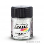 JAVANA Effektsalz für auffallende Effekte mit Seidenmalfarbe
