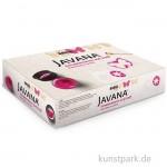 JAVANA - Schablonieren auf Stoff - Set mit 3 x 50 ml und Zubehör