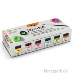 JAVANA Textil Sunny Creativ Set - Fresh Colors - 6 x 20 ml