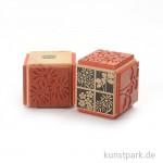 Judi-Kins Stamps - 4 Blumen und Blüten - Würfel