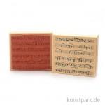 Judi-Kins Stamps - Notenblatt - 9x10 cm