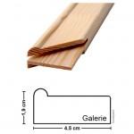 Keilrahmenleiste Galerie 40 cm