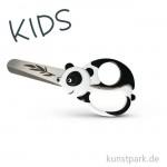 Kinderschere mit Pandamotiv, Länge 13 cm