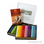 Koh-I-Noor MONDELUZ Aquarellstifte, 48 Stifte im Metalletui