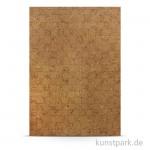 Kork-Papier - Mosaik, 20,5x28 cm, 1 Bogen, selbstklebend