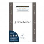Lanavanguard Mixmedia Papier, 5 Einzelbogen, 200g, 50 x 70 cm