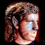 Latex-Maske Werwolf