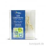 LED-Lichterkette mit 10 Lampen, 1 Meter