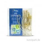 LED-Lichterkette mit 60 Lampen, 3x2 Meter