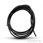 Lederband schwarz, Länge 70 - 80 cm