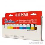 Lukas BERLIN Selection Set mit 10x20 ml Wasser-Ölfarbe