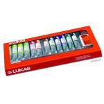 Lukas STUDIO Ölfarbe Kunststoffkasten 12 Tuben 20 ml und Zubehör