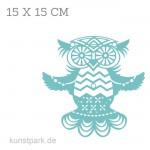 Marabu Schablone Silhouette 15x15 cm - Flying Owl