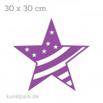 Marabu Schablone Silhouette 30x30 cm - Big star with stripes