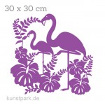Marabu Schablone Silhouette 30x30 cm - Flamingo