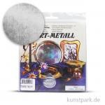 Metallfolie 10-Blatt, 140 x 140 mm Farbton: Silber