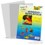 Mobilefolie transparent 50x70 cm, 5 Bogen