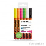 Molotow ONE4ALL Marker - 127HS Neon-Kit 6er
