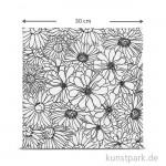 Motiv-Keilrahmen Blumen, 30x30 cm