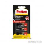 PATTEX Sekundenkleber Mini-Trio mit 3 x 1g