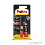 PATTEX Sekundenkleber Plastix Flüssig, 4ml 2g
