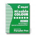 Pilot Pen Patronen 6 Stk - Grün
