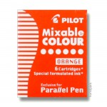 Pilot Pen Patronen 6 Stk - Orange