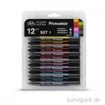 ProMarker - Winsor & Newton 12er Set 1