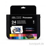 ProMarker - Winsor & Newton 24er Studenten-Set im Wallet