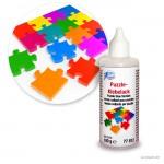 Puzzle Klebelack, glänzend und transparent, 100 g
