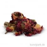 Rosenblüten rot für die Seifenherstellung, 3g