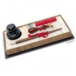 Rubinato Kalligrafie und Siegel-Set, 5 teilig in schöner Geschenkbox