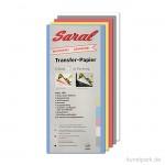 Saral Transferpapier - 5 Bögen, alle Farben, 22x22,8 cm