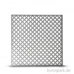 Schablone 30,5 x 30,5 cm - Rautenmuster klein, 1 Stück