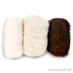 Schafwolle - Natur-Mix, 3x10g sortiert