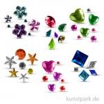 Schmucksteine-Set Fun, 800 Teile sortiert