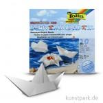 Schwimmpapier 20x20 cm, 20 Blatt, 65g - weiß