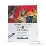 Sennelier feinste Ölpastellstifte - Stillleben-Set mit 24 Stiften