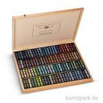 Sennelier Softpastell ECU - Holzkasten Landschaft-Auswahl mit 100 Stiften