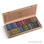 Sennelier Softpastell ECU - Holzkasten mit 50 Stiften